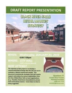 Black River Falls Retail Market Strategy @ City Hall