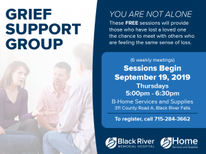 Grief Support Group @ B-Home Services and Supplies