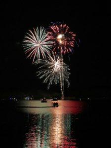 Fireworks @ Lake Arbutus