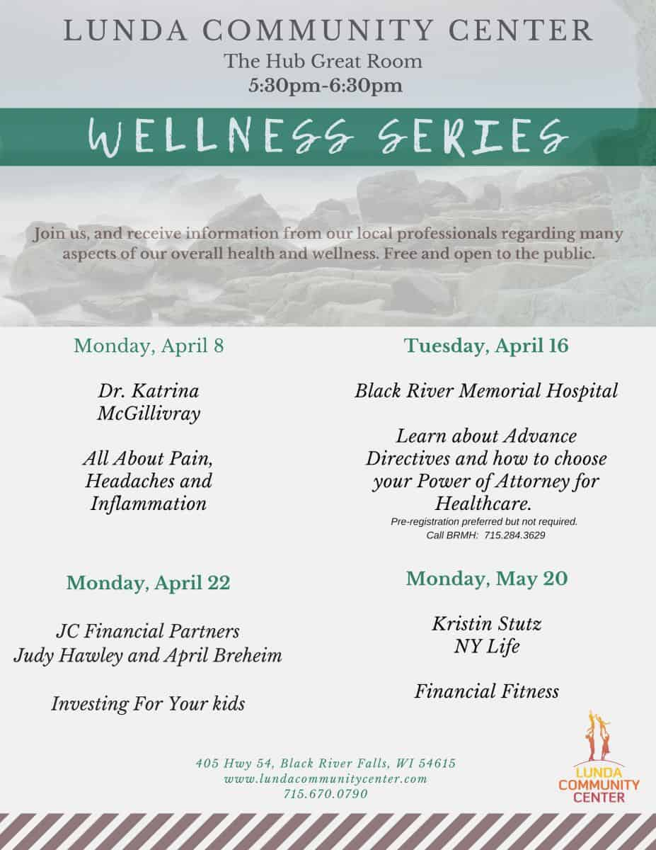 Wellness Series at The Lunda Communtiy Center