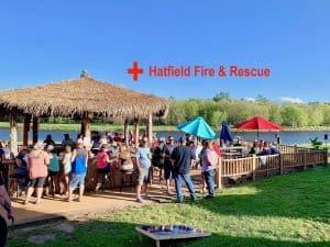 Hatfield Fire & Rescue Tiki Bar Fundraiser