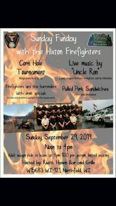 Sunday Funday with the Hixton Firefighters