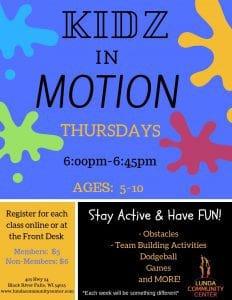 Kidz in Motion @ Lunda Community Center