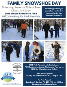 Family Snowshoe Day @ Lake Wazee