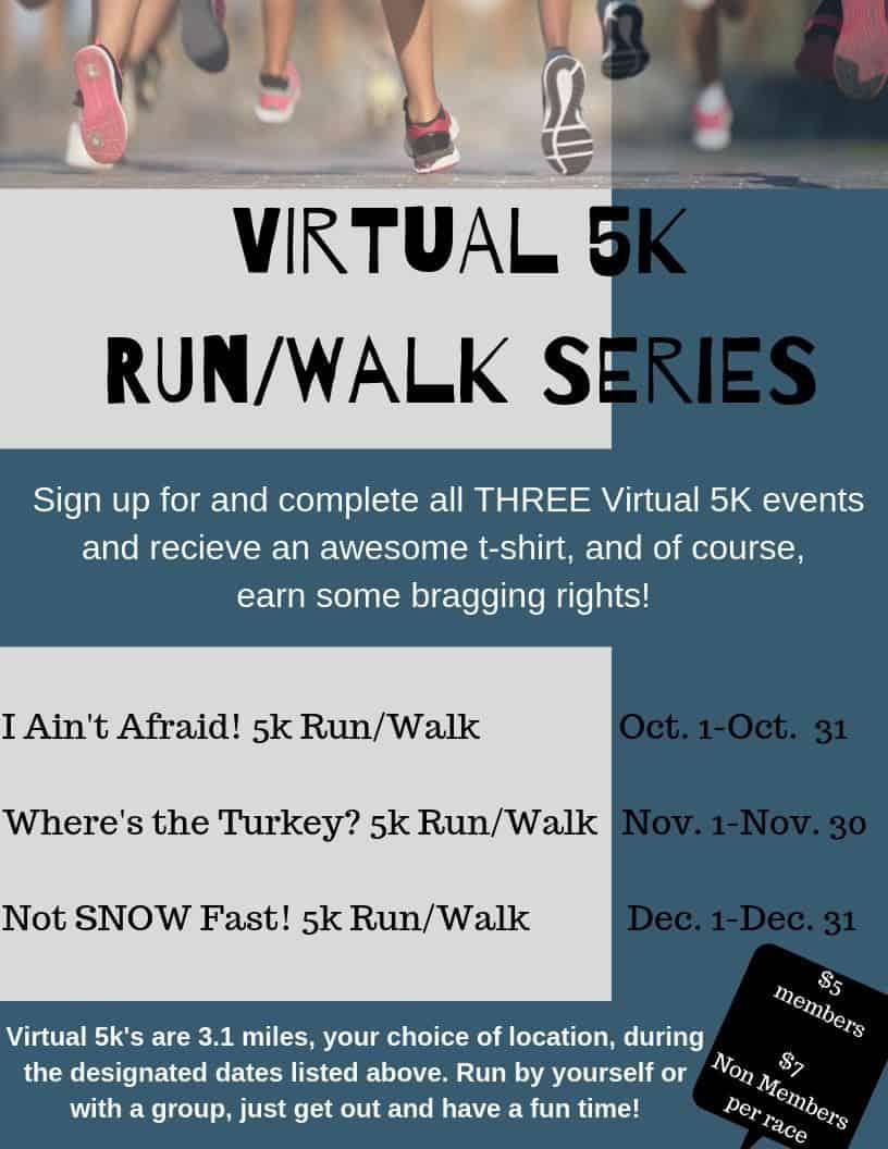 Virtual 5K Run/Walk Series @ Lunda Community Center