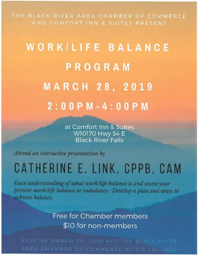 Work/Life Balance Program @ Comfort Inn & Suites