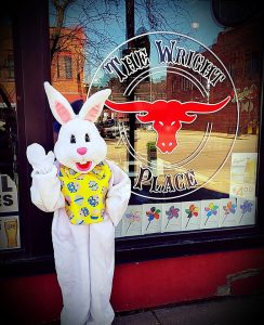 Easter Bunny @ The Wright Place Saloon